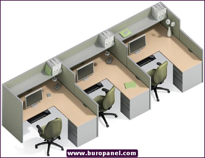 2014 ofis workstation çalışma alanı 7