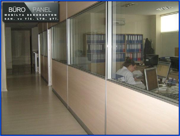 Ofis Bölme Duvar Sistemi