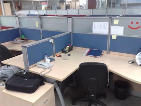 açık ofis çalışma masaları