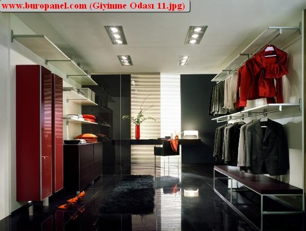 giyinme odası model