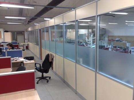 ofis için bölme duvar örnekleri