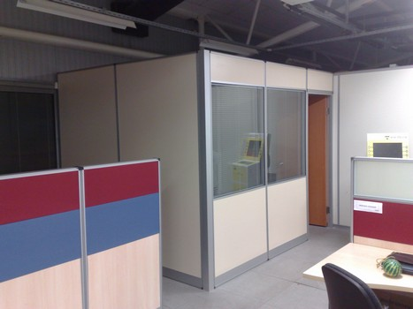 ofis için bölme duvar projesi örnekleri