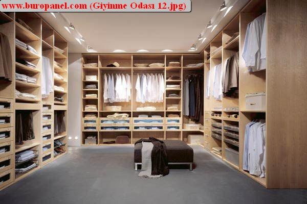yeni giyinme odası